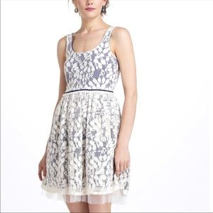 Anthropologie Weston Wear Vinca Minor Dress Large